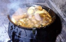 Fiesta del pucherico en Yegen