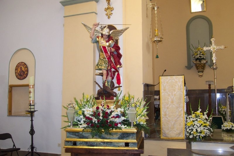 Fiestas patronales de Mecina Bombarón 2012
