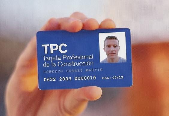 Curso para la obtención de la tarjeta profesional de la construcción