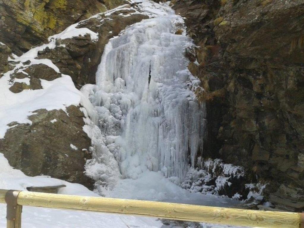 La nieve en Alpujarra de la Sierra