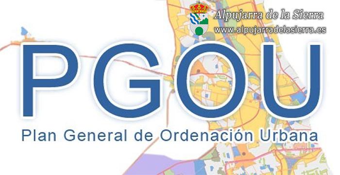 Plan general de ordenación urbanística (Aprobación Inicial)