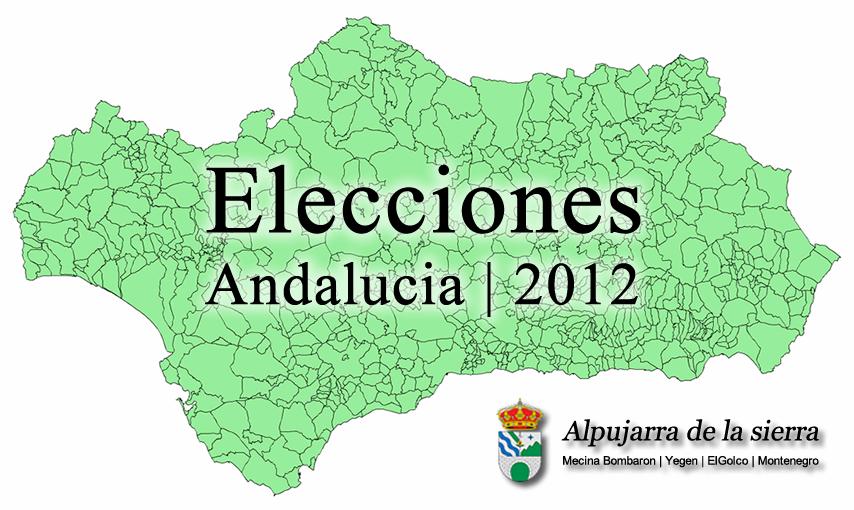 Resultados elecciones autonómicas en Alpujarra de la Sierra y en Andalucía