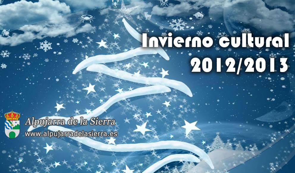 Programa del Invierno Cultural 2012/2013 (ACTUALIZADO)