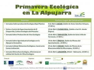 Primavera ecológica en la Alpujarra
