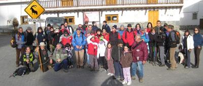 El club de montaña Lanteira realiza este domingo una salida a Yegen