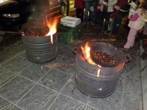 Alpujarra de la Sierra traslada hasta Vícar la quinta edición de su castañada