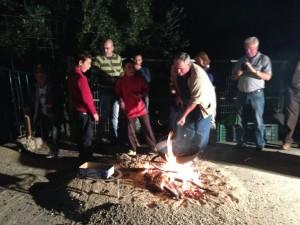 El sabor de las castañas asadas 'invade' la Alpujarra
