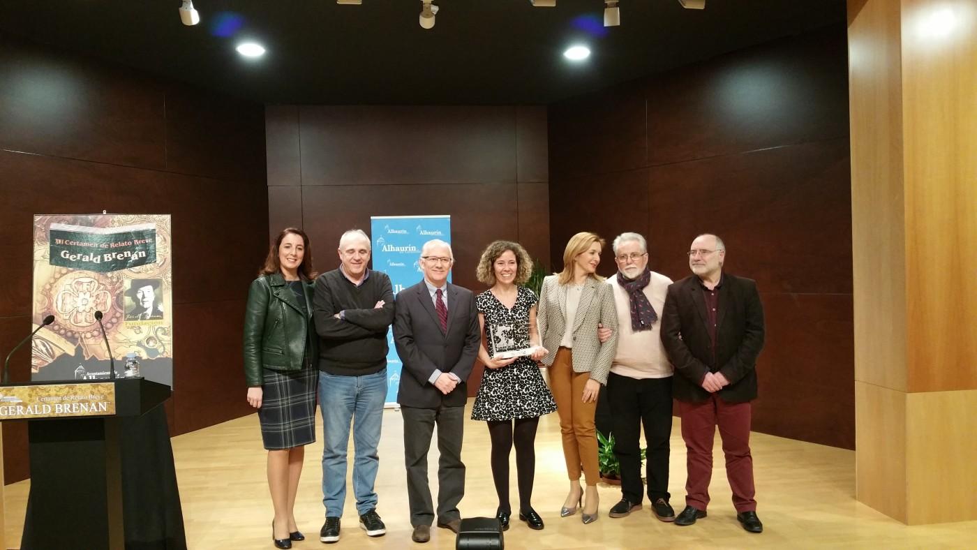 """Entrega del premio de Relato corto """"Gerald Brenan"""" en su XII edición"""