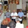 Sentido homenaje a los carpinteros de Lanjarón en la presentación del proyecto 'Puertas: Patrimonio de Lanjarón'