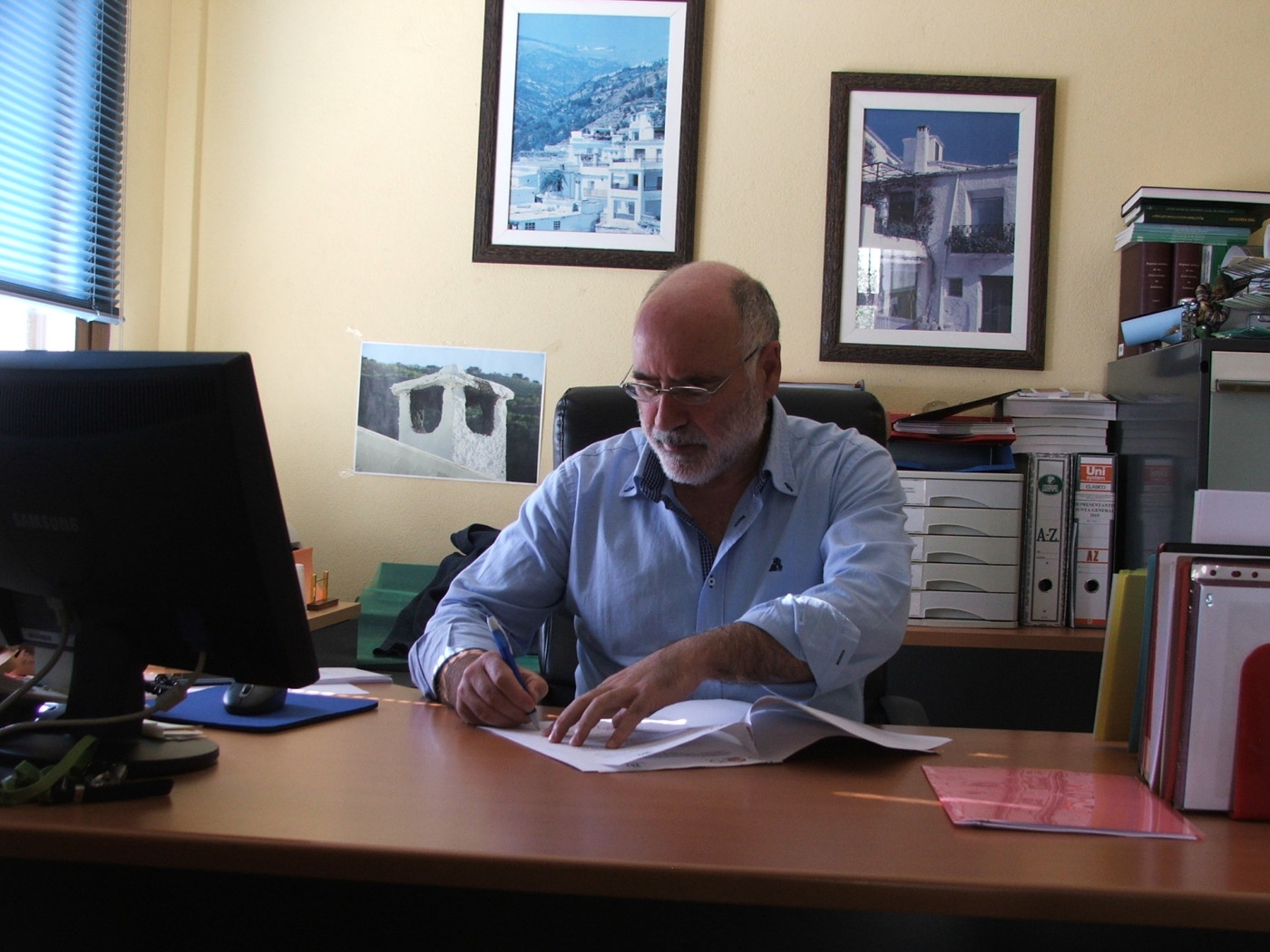 Mancomunidad de La Alpujarra y Federación de empleados/as de los Servicios Públicos de UGT-Granada firman un convenio en el ámbito de la formación