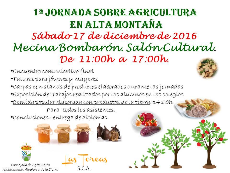Primera Jornada sobre Agricultura Ecológica de Alta Montaña
