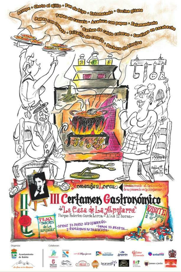 III Certamen Gastronómico de la Casa de la Alpujarra en Rubite el próximo 3 de junio