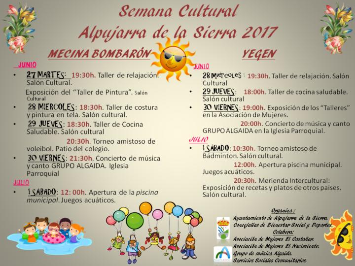Semana Cultural 2017