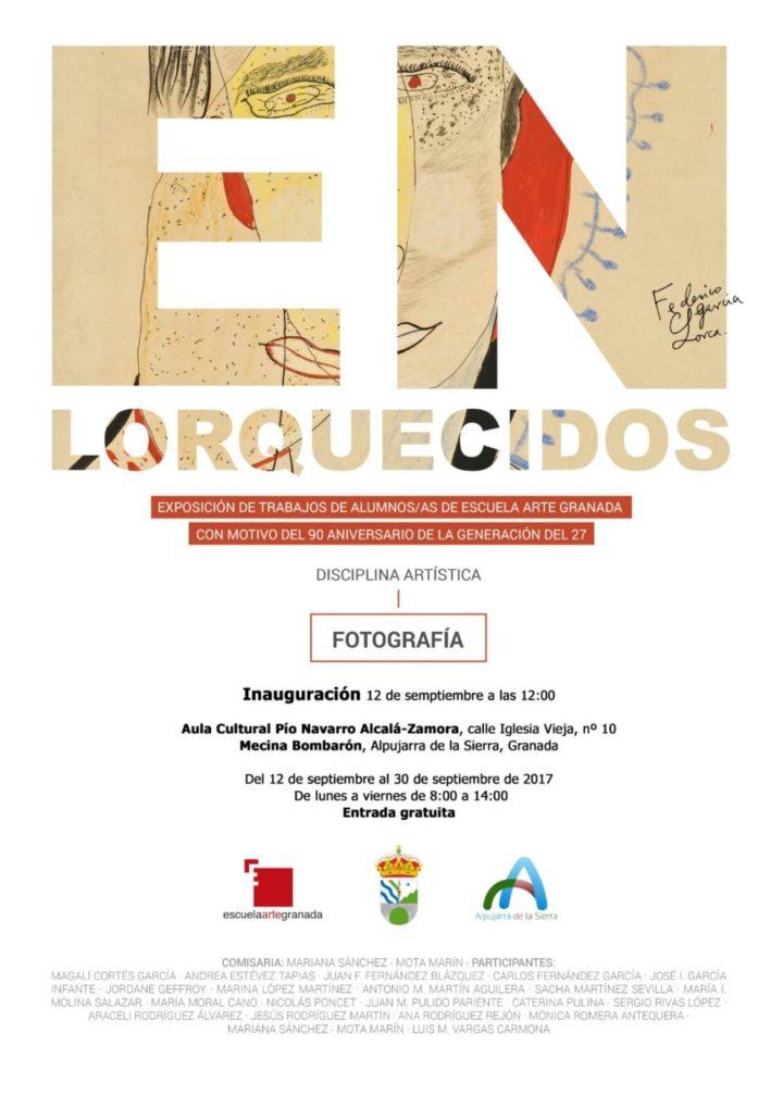 Exposicion de trabajos de alumnos de la escuela de arte de Granada
