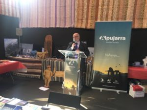 La Alpujarra promociona su oferta turística, gastronómica y cultural en la Feria de los Pueblos de Granada
