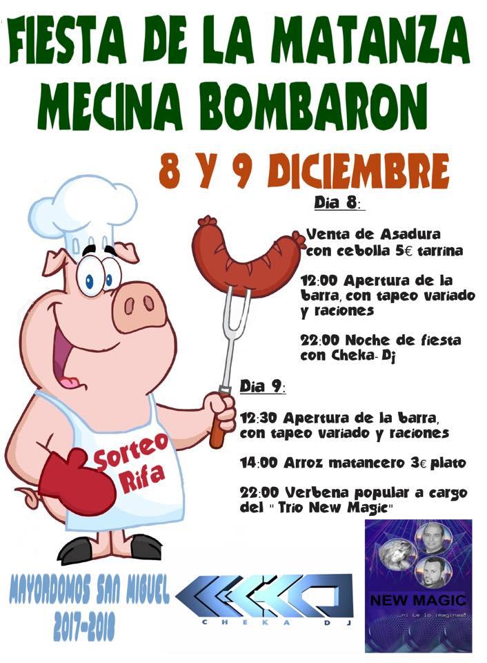 Fiesta de la Matanza en Mecina Bombarón