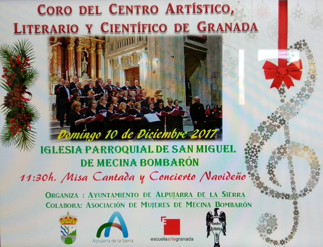 Misa Cantada y Concierto Navideño el 10 de Diciembre