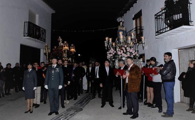 Yegen celebra sus fiestas patronales en honor al Niño Bendito