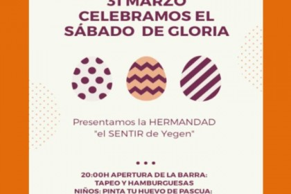 """Presentación de la hermandad «EL SENTIR DE YEGEN"""""""