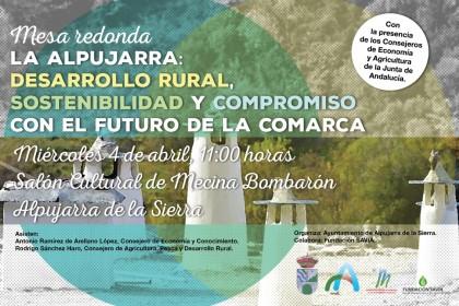 Mesa Redonda La Alpujarra Miércoles 4 de Abril