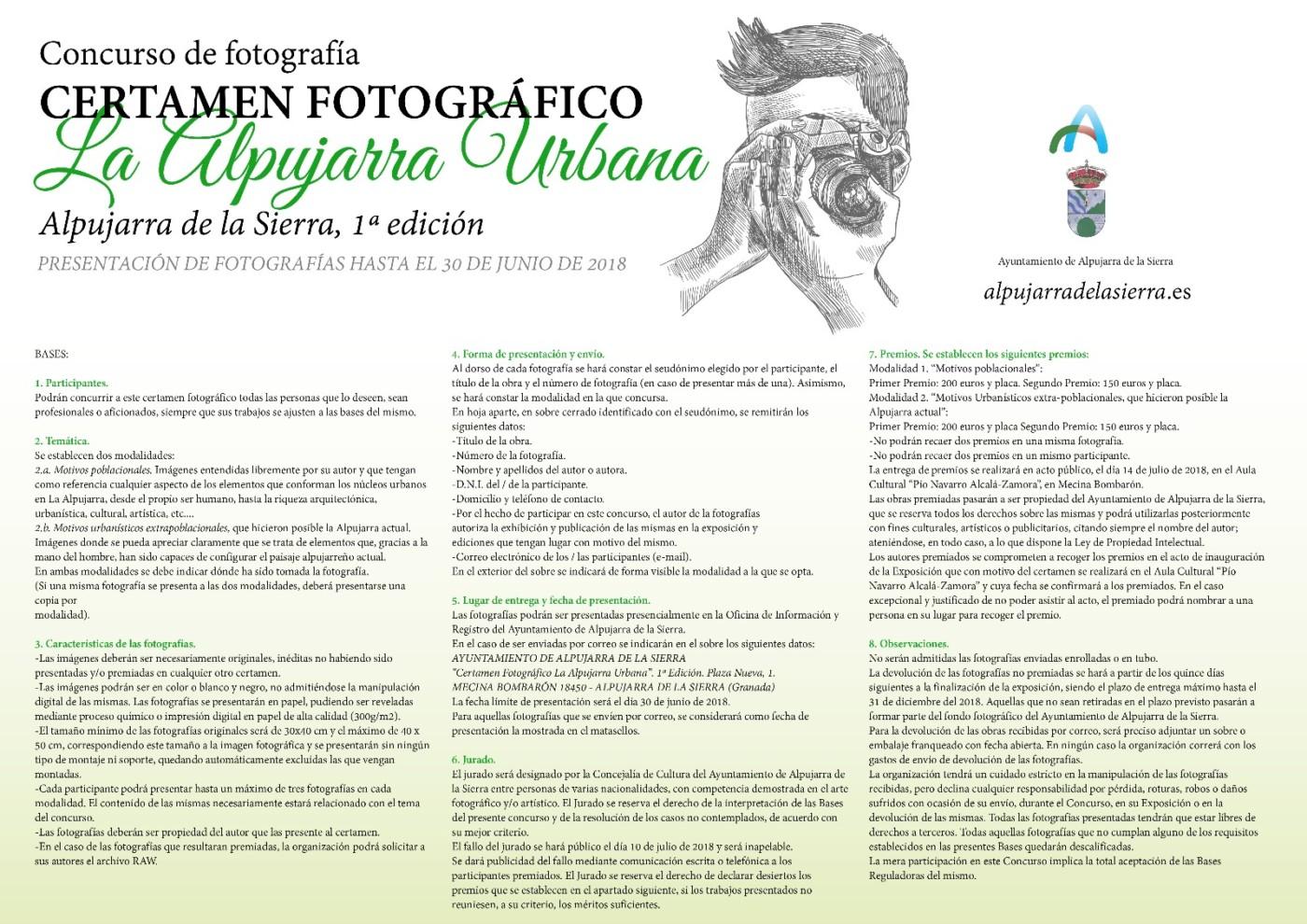 1ª Edicion Concurso de Fotografia en Alpujarra de la Sierra