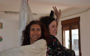 La bailaora y profesora de flamenco Carmen Pladevall enseña su arte en la Alpujarra y Granada