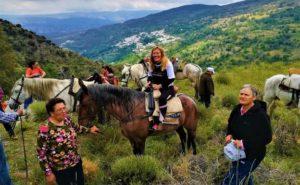 Alpujarra de la Sierra apuesta por el turismo ecuestre para dar a conocer sus encantos naturales a caballo