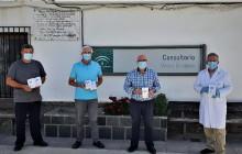 Dotan a los sanitarios de Alpujarra de la Sierra de termómetros infrarrojos de última generación para combatir el coronavirus