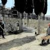 Los cementerios de Mecina Bombarón y Yegen lucen terraos de launa en vez de tejas para salvaguardar la arquitectura de La Alpujarra