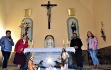 La iglesia de San Miguel Arcángel de Mecina Bombarón ya luce el 'Misterio del Nacimiento de Jesús