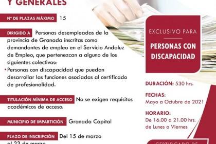 OPERACIONES AUXILIARES DE SERVICIOS ADMINISTRATIVOS Y GENERALES