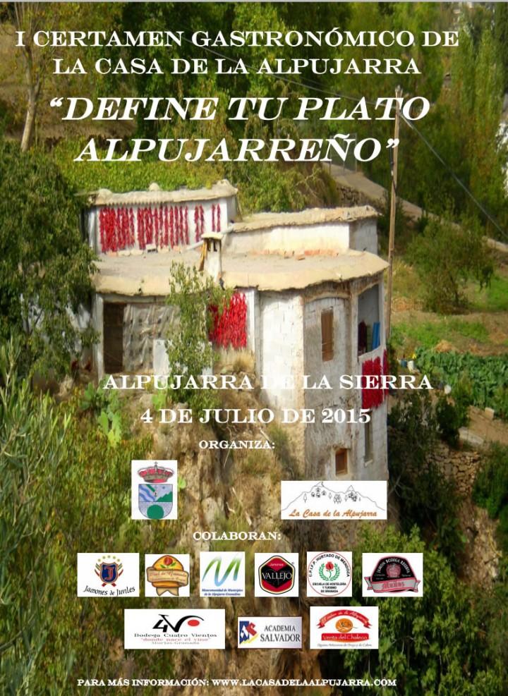 I Certamen Gastronómico de la Casa de la Alpujarra