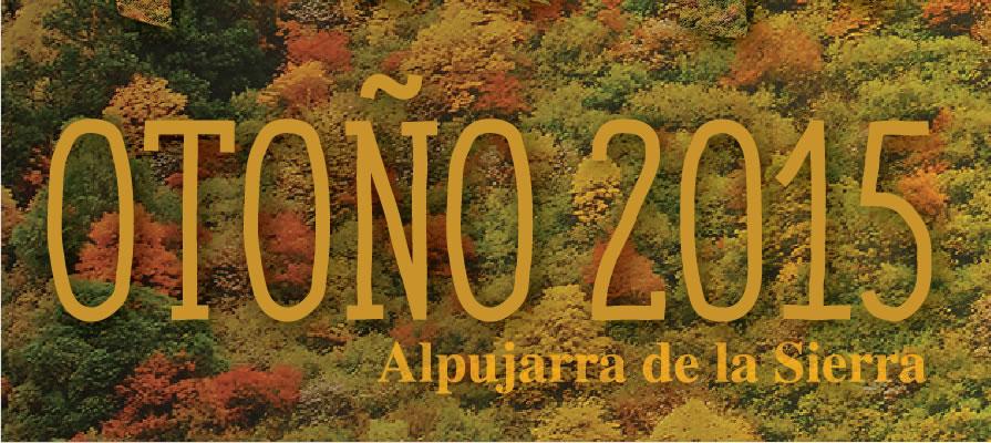 Otoño 2015: Programa de actividades
