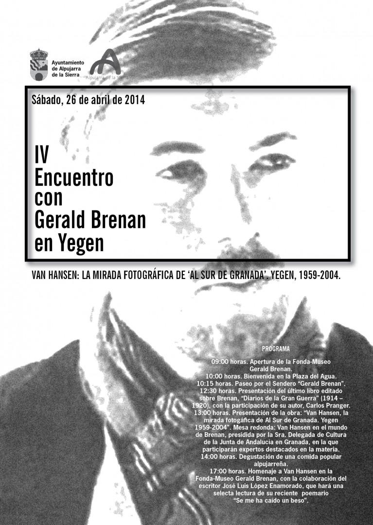 IV Encuentro con Gerald Brenan en Yegen