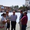 La delegada de Educación inaugura las renovadas pistas de los colegios de Mecina Bombarón y Yegen