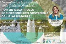 Encuentro con la presidenta de la Junta de Andalucía