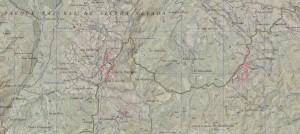 Vista del mapa del Catastro de Alpujarra de la Sierra