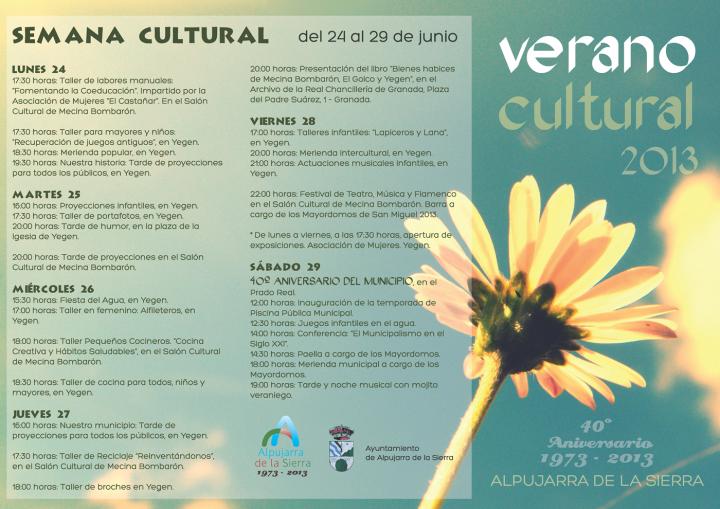 verano cultural 2013 Página 1