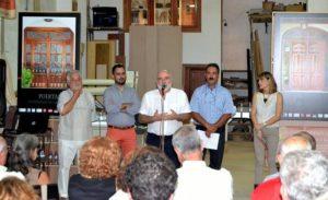 Presentación de la exposición fotográfica en la Carpintería Mingorance.